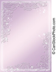 Modern purple banners - astral and flower theme Vector...