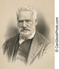 Victor Hugo, French poet, playwright, novelist, essayist,...