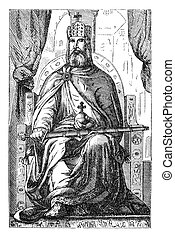 Charlemagne aka Charles the Great. Originally published in...