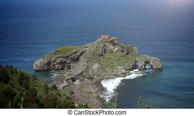 The San Juan de Gaztelugatxe - The San Juan de Gaztelugatxe...
