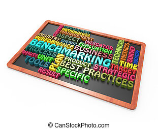 Benchmarking 3d wordclouds on blackboard
