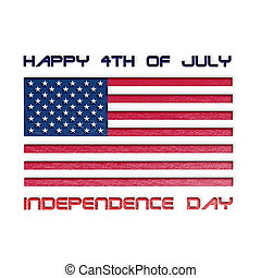 usa independence day illustration - usa independence day...