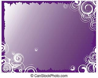 紫色, 結構