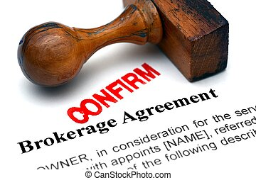 Brokerage agreement