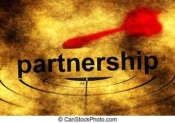 Partnership grunge  target