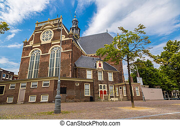 Westerkerk in Amsterdam. Amsterdam is the capital and most...