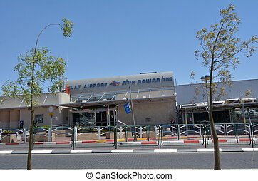 Eilat Airport in Eilat Israel - EILAT, ISR - APRIL 14...
