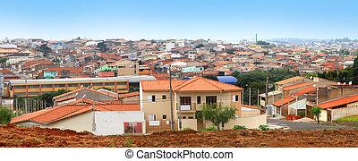 Sorocaba suburbs