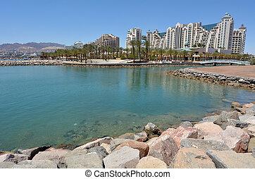Cityscape of Eilat, Israel - EILAT, ISR - APRIL 14...