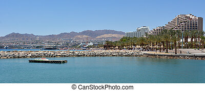 Cityscape of Eilat, Israel - EILAT, ISR - APRIL 14...
