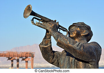 Red Sea Jazz Festival - EILAT, ISR - APRIL 15 2015:...