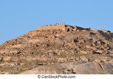 Avdat Nabataean city in the Negev Desert, Israe - AVDAT, ISR...