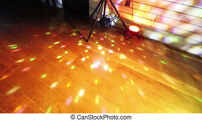 Party lights disco ball - Party lights with disco ball and...