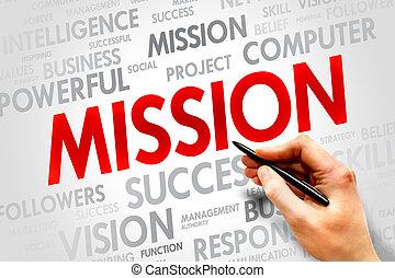 misión,