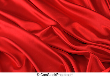 red silk backdrop