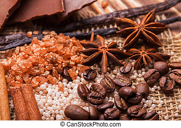 Chocolate spa - Chocolate and coffee spa - sea salt and bath...