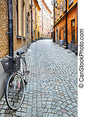 Street in Stockholm, Sweden