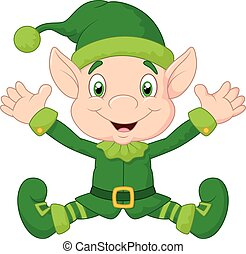 Cute gnome cartoon - Vector illustration of Cute gnome...