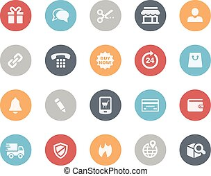 e-Shop Icons -- Classics - Vector icons for your web, mobile...