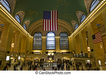 Central Station New York - A busy Central Station New York