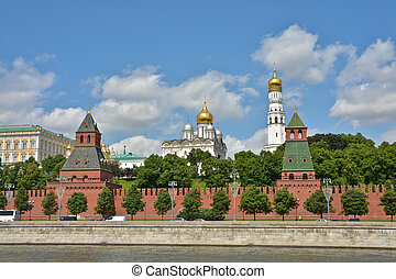 Churches Of The Moscow Kremlin.