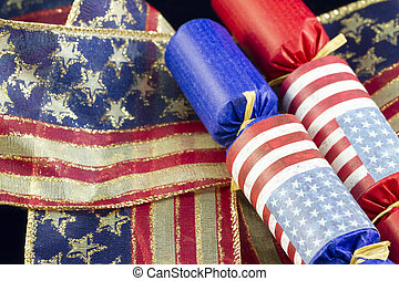 Fourth of July Celebration - Party favors and 4th of July...