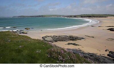 North Cornwall coast Harlyn Bay - Harlyn Bay North Cornwall...