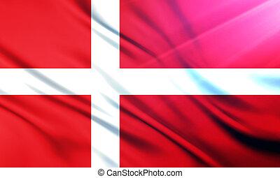 The National Flag of Denmark - The National Flag...