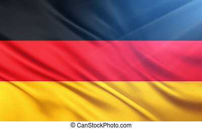 The National Flag of Germany - The National Flag...