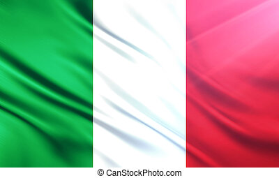 The National Flag of Italy - The National Flag illustration...