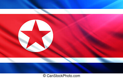 The National Flag of North Korea - The National Flag...