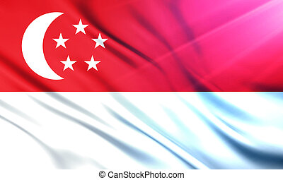The National Flag of Singapore - The National Flag...