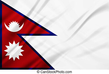The National Flag of the Napal - The National Flag...