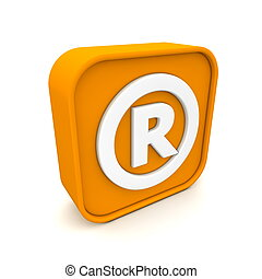 Registered Trademark like RSS - orange RSS like Registered...