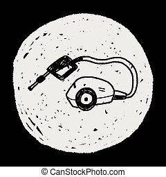 washing machine doodle