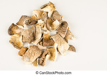 Oyster mushrooms - Dehydrated and chopped oyster mushorooms,...