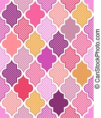 seamless geometric islamic pattern