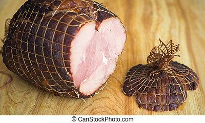Holiday ham