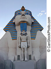 The Sphinx- Las Vegas NV - An impressive statue replica of...