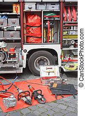 Fire Truck Equipment - German Fire Department Truck and...
