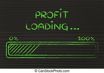 funny progress bar with profit loading - progress bar, funny...