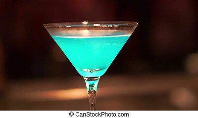 Blue Beach Bar Cocktail
