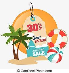 Shopping design. - Shopping design over white background,...