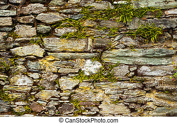 Stone Brick Wall Background