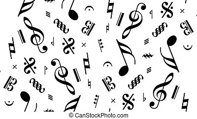music note seamless