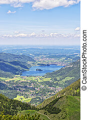 View from Jaegerkamp Bavaria Alps - View from summit...