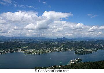 Klagenfurt, Carinthia, Austria - Klagenfurt, a village in...