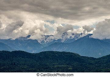 Turrach High, Carinthia, Austria - Turracher High, a...