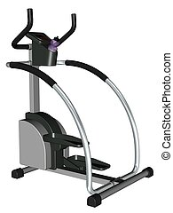 Exercise equipment - 3D rendered exercise equipment rendered...