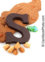 Sinterklaas candy - Speculaas doll and other candy for Dutch...